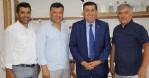 Kanal Avrupa'dan Başkan İkiz'e ziyaret