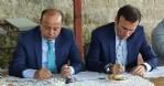Canik'te Başkan ve Kaymakam istişarede