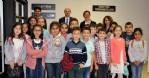 Küçük öğrencilerden OMÜ'ye ziyaret