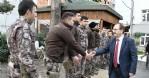 Başkan Şahin Özel Harekat polisleriyle