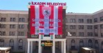 Demirtaş'tan bayraklı destek