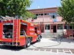 Edirne'de Yatılı Okulda Çıkan Yangın Korkuttu