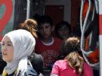 Basketbol Öğrencilerini Taşıyan Minibüs Kaza Yaptı
