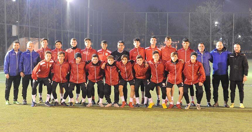 Samsunspor U16'da Kırşehir mesaisi