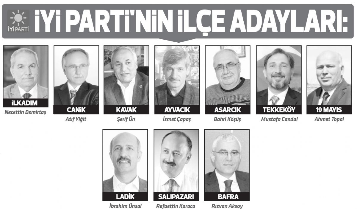 İYİ Parti'de ilçe adayları tamam