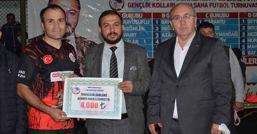 Halı sahada şampiyon Alagömlekspor