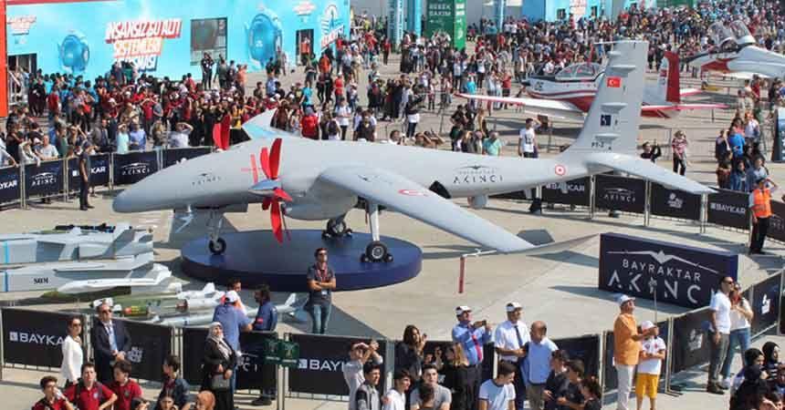 Teknofest 2022 Samsun'da düzenlenecek